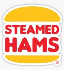 Steamed Hams, delightfully devilish. Sticker