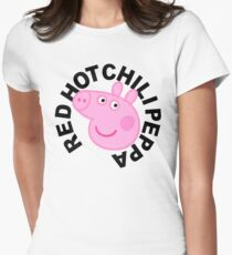 Red Hot Chilli Peppa Women's Fitted T-Shirt