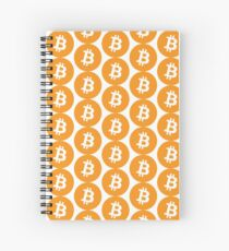 Bitcoin Currency Spiral Notebook
