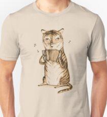 Akkordeon Tiger Slim Fit T-Shirt