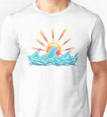 Sunset Surf Unisex T-Shirt
