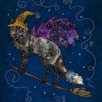 Midnight Vixen by f-rizzato-art