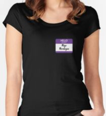 Hello My Name is  Migo Montoya Women's Fitted Scoop T-Shirt