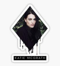 Melting Katie McGrath Sticker