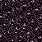 Cryptid Muster (rosa Linien) von Diane LeonardArt