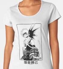 Katsuki Bakugo Women's Premium T-Shirt