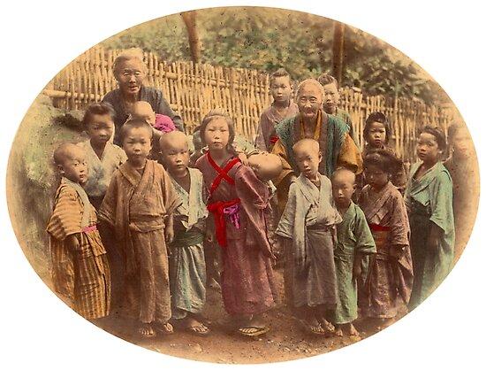 Japanese children by Fletchsan