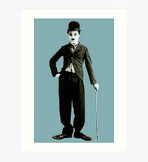Classic Chaplin Art Print