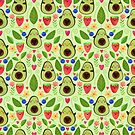 Happy Avocados by Elisabeth Fredriksson