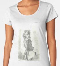 the shape of water Women's Premium T-Shirt