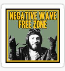 1a2c093cf3d0a Sgt Oddball Negative Wave Free Zone Sticker