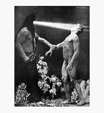 HD- Hypnosis,  by Sascha Schneider (1904) HIGH DEFINITION Photographic Print