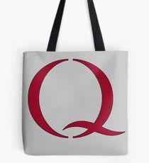 Q - QANON - #QANON - Q Tote Bag