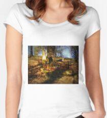 Community Pillar  Women's Fitted Scoop T-Shirt