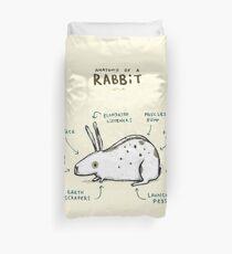 Anatomie eines Kaninchens Bettbezug