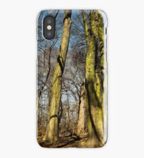Green tall guardians  iPhone Case
