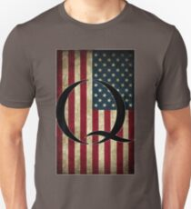 Q QANON AMERICA USA - WHERE WE GO ONE Unisex T-Shirt