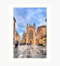 The Abbey Church of Saint Peter and Saint Paul - Bath, England Art Print