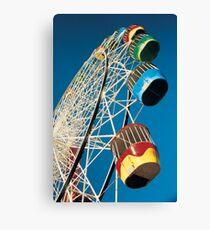 Luna Park Wheel Canvas Print