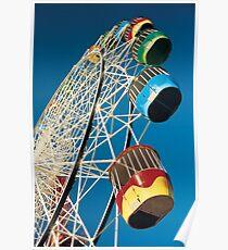 Luna Park Wheel Poster