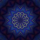 Dark star Mandala by Lyle Hatch