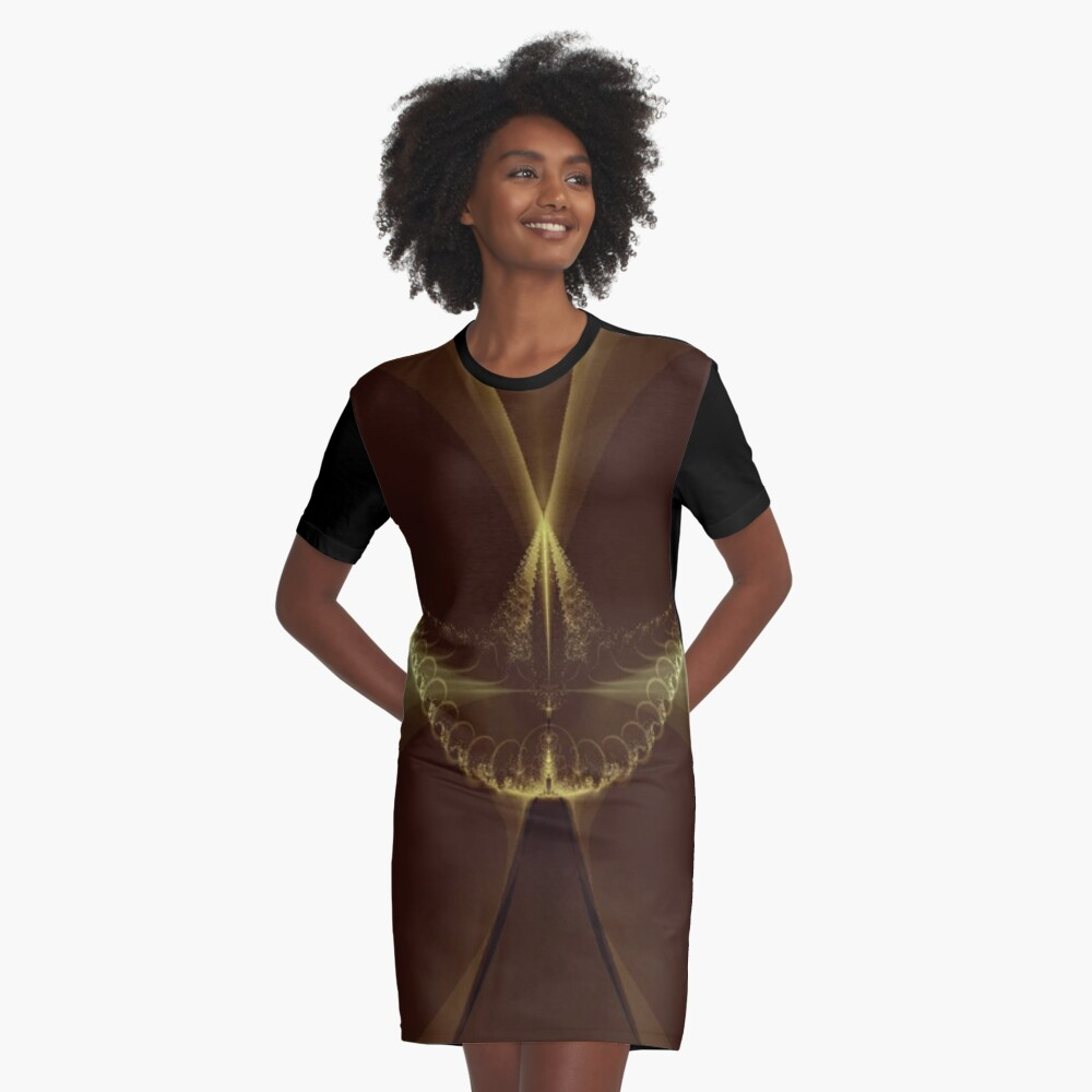 The Great Hall  Graphic T-Shirt Dress Front