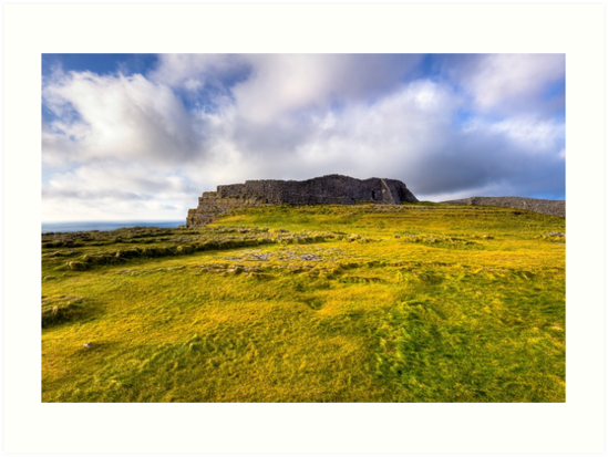 Last Refuge - Aran Island Ruins by Mark Tisdale