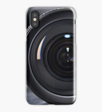 Photo lens front iPhone Case/Skin