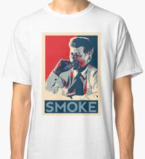 Smoke - Kennedy with cigar obama style poster graphic Classic T-Shirt