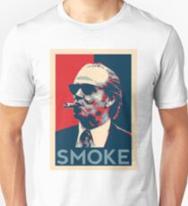 Smoke - Nicholson with cigar obama style poster graphic Unisex T-Shirt