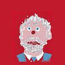 « Portrait inspiré de Philippe Couillard - Martin Boisvert - Faces à flaques  » par Martin Boisvert