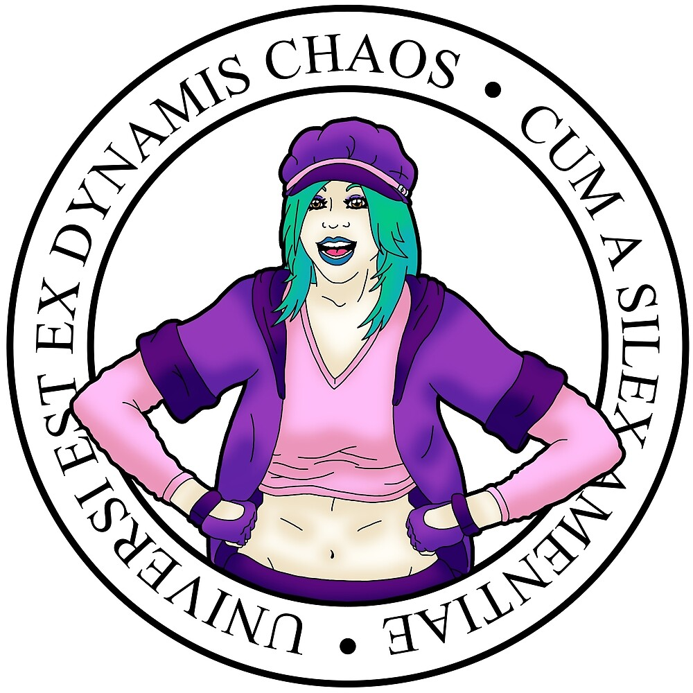 Ex Dynamis Chaos main logo by immadametal