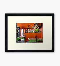 Rhum Bar in Choroni Framed Print