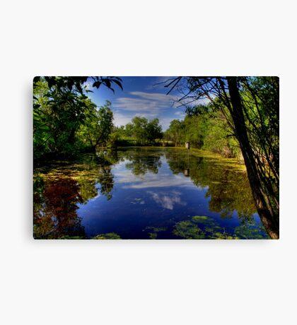 """The Marsh"" Canvas Print"