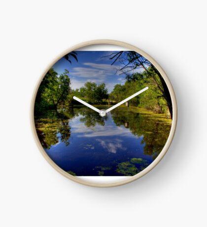 """The Marsh"" Clock"