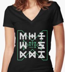 Monsta X - The Code Women's Fitted V-Neck T-Shirt