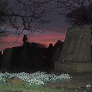 Easington Church Sunset by dougie1
