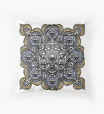 Mandala - Heraldic Throw Pillow
