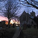 Easington Church in the Sunset by dougie1
