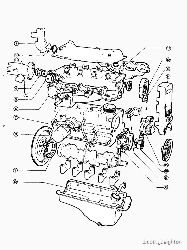 Exploded View Vehicle