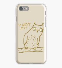 Confused Owl iPhone Case/Skin