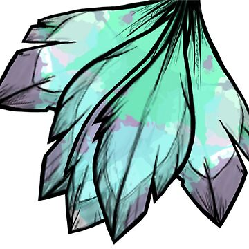 Simple feather art by KaiIori77
