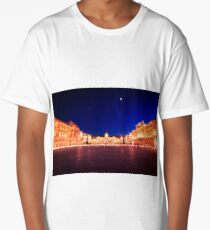 The square of Trieste during Christmas time Long T-Shirt