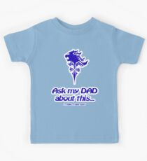 Ask my dad about this... (Final Fantasy Lionheart) Kids Clothes