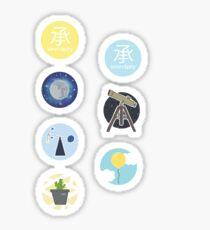 'Serendipity' - Aufkleberset Sticker