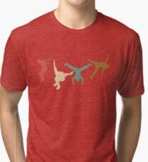 Vintage Parkour Runaway Extreme Sports Stunt Free Running  Tri-blend T-Shirt
