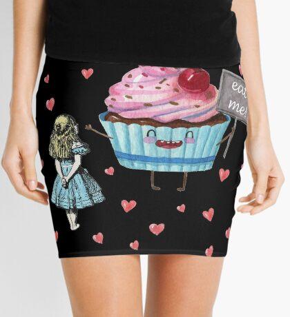 Alicia en el país de las maravillas - comerme Minifalda