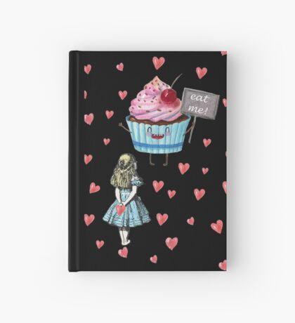 Alicia en el país de las maravillas - comerme Cuaderno de tapa dura