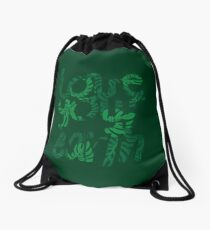 Love your Earth II Drawstring Bag