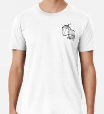 Camiseta premium para hombre Peterpan Kiss